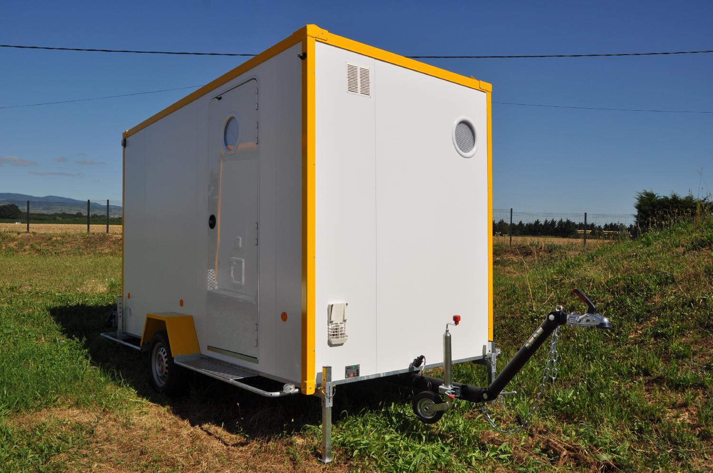 Location pro Abri de Chantier Mobile Aménagé - DE400