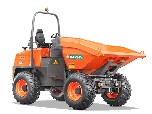 Location pro Dumpers - 10 Tonnes de charge - Gyro