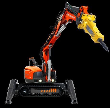 Location pro Robot Démolisseur DXR 300