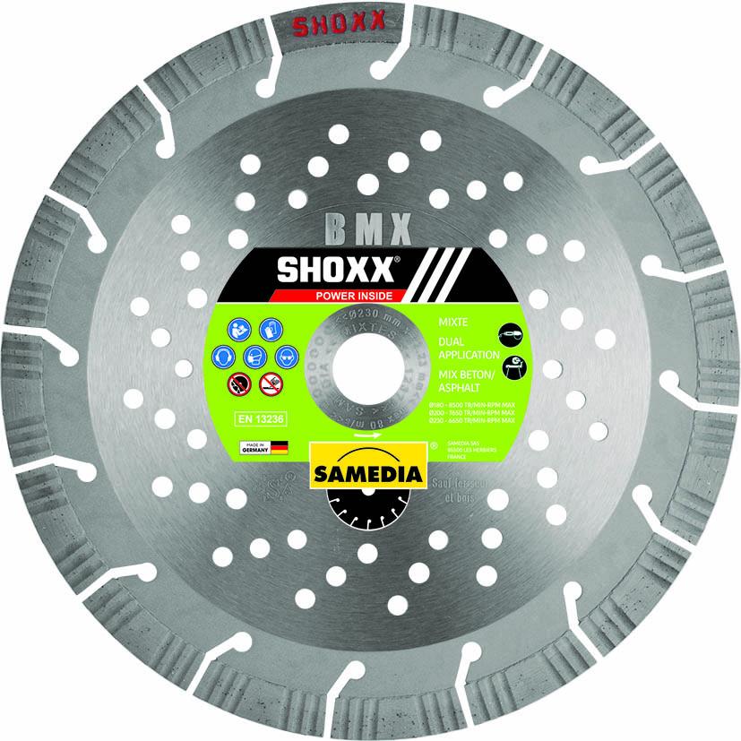 DISQUE DIAMANTÉ SHOXX BMX Ø125 SAMEDIA