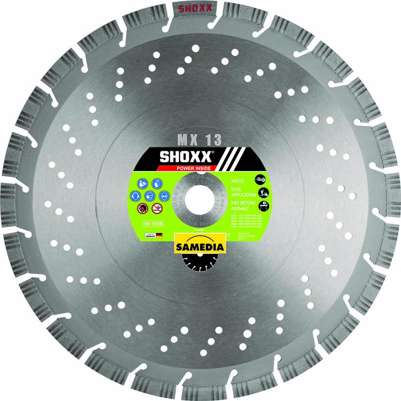 DISQUE DIAMANTÉ SHOXX MX13 Ø125 SAMEDIA