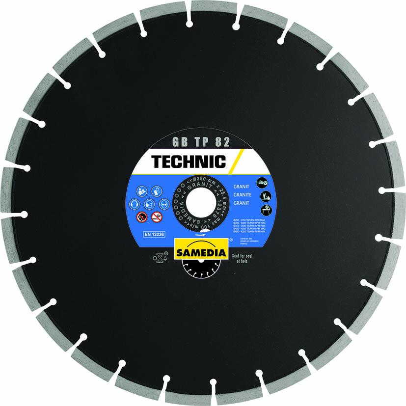 DISQUE DIAMANTÉ TECHNIC GB TP 82 Ø300 SAMEDIA AL20
