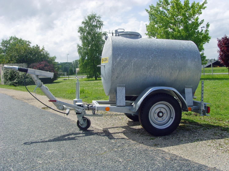 Tonne à eau Remplissage 1000 L