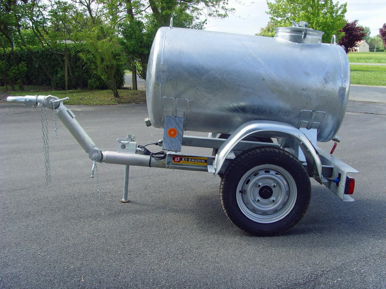 Tonne à eau Remplissage 500 L